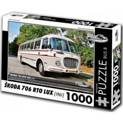 Puzzle Bus Skoda 706 RTO LUX (1961)