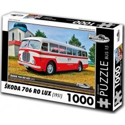 Puzzle Bus Skoda 706 RO LUX (1951)