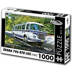 Puzzle Bus Skoda 706 RTO LUX (1967)