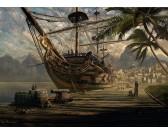 Puzzle Kikötött hajó