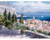 Puzzle St. Tropez tetői felett