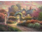 Puzzle Rózsa ház