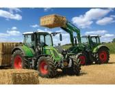 Puzzle Fendt traktorok - szénarakás - GYEREK PUZZLE