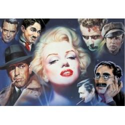 Puzzle Marilyn Monroe és barátai