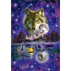 Puzzle Farkasok teliholdban