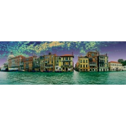 Puzzle Egy pillantás Velencére - PANORÁMA PUZZLE
