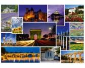 Puzzle Megyünk szabatságra - Franciaország