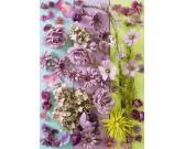 Puzzle Lila virágok