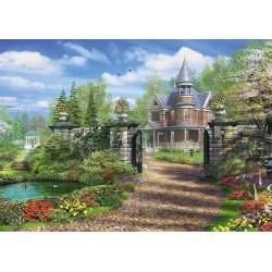 Puzzle Ház a kertben