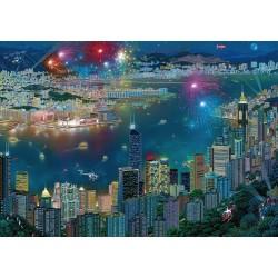 Puzzle Tűzijáték Hong Kongban