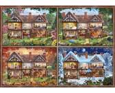 Puzzle Ház - négy évszak