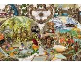 Puzzle Egzotikus világtérkép