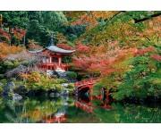 Puzzle Tó egy japánkertben