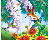 Puzzle Szines kolibrimadarak