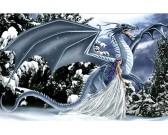 Puzzle Jég sárkány