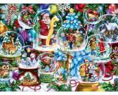 Puzzle Karácsonyi kívánságok