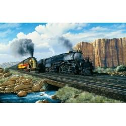 Puzzle Vonatok