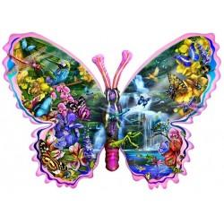 Puzzle Pillangó - vízesés