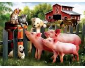 Puzzle Állati barátok - XXL PUZZLE