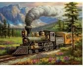 Puzzle Rockland Express vonat - XXL