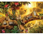 Puzzle Jaguárok a dzsungelben - XXL PUZZLE