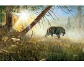 Puzzle Farkas a vadászaton
