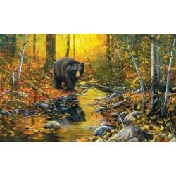 Puzzle Medve a patak mellett