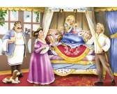 Puzzle A hercegnő és a borsó - GYEREK PUZZLE