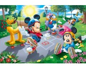 Puzzle Mickey Mouse - játszótéren - GYEREK PUZZLE