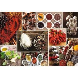 Puzzle Fűszerek - kollázs