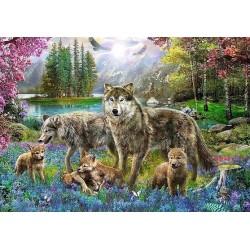 Puzzle Farkascsalád
