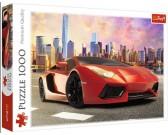 Puzzle Piros sportkocsi