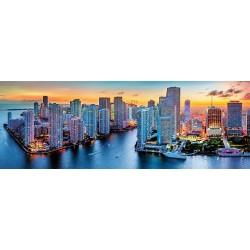 Puzzle Miami éjjel - PANORAMATIKUS PUZZLE