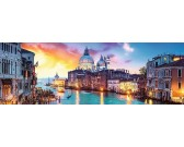 Puzzle Canal Grande, Velence - PANORAMATIKUS PUZZLE