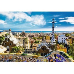 Puzzle Park Guell, Barcelona