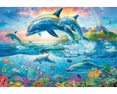 Puzzle Delfin család