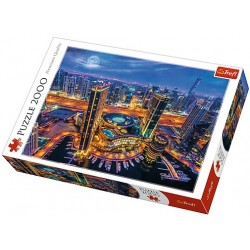 Puzzle Dubai fények