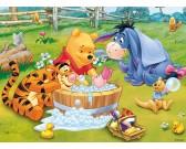 Puzzle Micimackó - fürdés közben - GYEREK PUZZLE