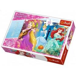 Puzzle Három hercegnő - GYEREK PUZZLE