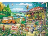 Puzzle Zöldségárusítás