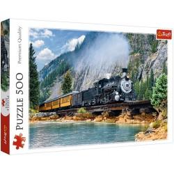 Puzzle Vonat a hegyekben